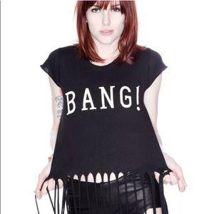 WILDFOX Bang! Festival Fringe Short Sleeved Tee